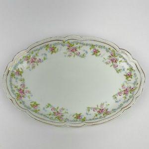 Antique Victoria Austria Porcelain Serving Platter